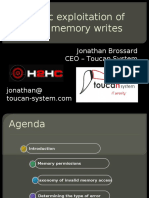 Jonathan Brossard - H2HC 2010
