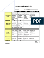 Resume Grading Rubric - Polytech College.doc