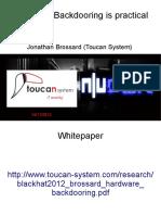 Moabi - Hardware Backdooring is Practical - NULLCON Goa 2012