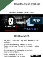 Moabi - Hardware Backdooring is Practical - NULLCON Goa 2019