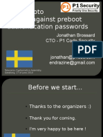 Moabi - Bruteforcing PreBoot authentication - TELECOMIX 2009