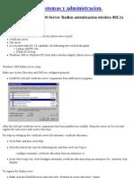 Configurar Radius Windows 2000
