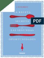 Barret J.D. - La receta secreta de las segundas oportunidades.pdf