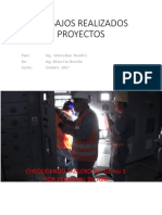 Trabajos Realizados Proyectos Octubre 2017