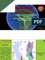 HISTORIA Y POSICIONAMIENTO GEOGRAFICO DE PUNO