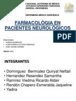 Farmacologia en Pacientes Neurologicos