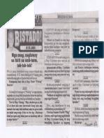 Bulgar, July 15, 2019, Mga Cong. naglaway sa hirit na unli-term, tsk-tsk-tsk.pdf