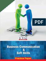 Business Communication Model Paper