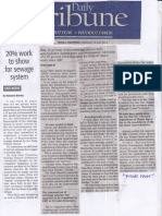 Daily Tribune, July 15, 2019, 20% work to show for sewage system.pdf