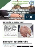 Corrupción, Definición, Causas y Consecuencias Marcelo