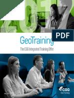3516 2017 GeoTraining Catalog