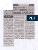 Peoples Tonight, July 15, 2019, Dept. of OFWs A dream come true for migrant workers.pdf