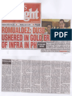 Peoples Tonight, July 15, 2019, Romualdez DU 30 ushered in gold era of infra in PH.pdf