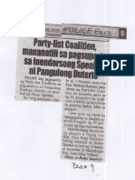 Police Files, July 15, 2019, Party-list Coalition, mananatili sa pagsuporta sa inendorsong Speaker ni Pangulong Duterte.pdf