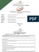 Actividad 14 Informe Final Del Proyecto de Responsabilidad Social