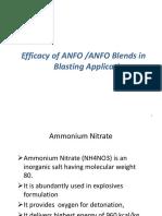 Anfo vs Emulsion