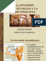 Invasión musulmana en España.