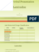Antiretroviral presentation-----Lamivudine.pptx