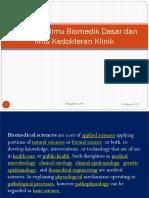 K1 Hubungan Biomedik Dasar Dengan Ilmu Kedokteran