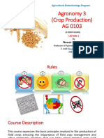 Crop Production 1