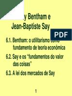 11 Bentham Say