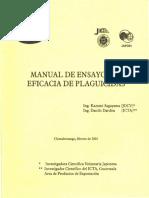 Manual de eficacia para insecticidas ICTA