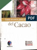 Fedecacao 2004 Guia Tecnica Para El Cultivo Del Cacao 1ª Ed