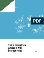 CB Insights Amazon Disruption Industries