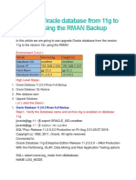 Upgrade Oracle database from 11g to 12c using the RMAN Backup.docx
