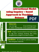5 E_s Instructional Model Using Inquiry- Based Approach in Teaching Science