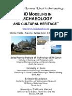 3DArchaeology School