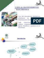 introducción al mantenimiento eléctrico