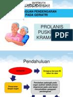 Penyuluhan Tuli Pd Lansia Prolanis