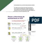 Principales Sistemas de Deslizamiento en Las Estructuras Mecanicas Cmunes