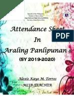 Attendace in AP