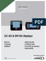 Manual usuario Lennox DC60