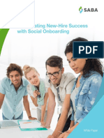 Accelerating new hire success