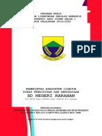 PROGRAM KERJA Pengnelan Lingkungan Berbasis Budi Pekerti