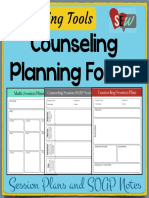 Counseling Plan Templates