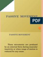 Passive Movement 1