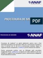 Procedura de Mediere 2019