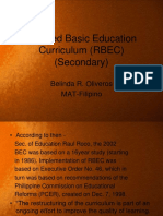 Revised basic education curriculum
