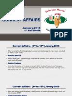 Current Affairs January-19-1st Half