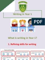 Writing in Year 1