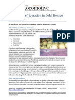 Ammonia Refrigeration in Cold Storage Facilities