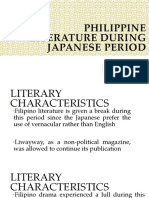 Philippine Literature During Contemporary Period