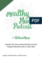Diet for Fertility