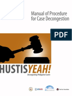Hustisyeah Case Decongestion Manual 040314