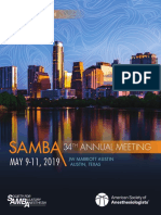 SAMBA 2019 Annual Meeting AdvanceProgram FINALrev (1)