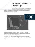 How to Use Curves in Photoshop - 5 Simple Tips